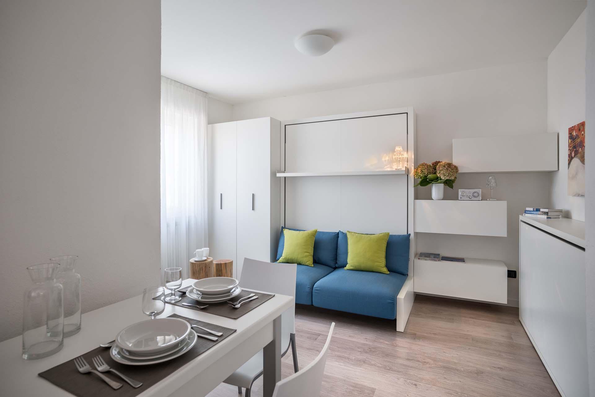 Monolocale design vista montagna appartamenti per vacanze for Appartamenti design