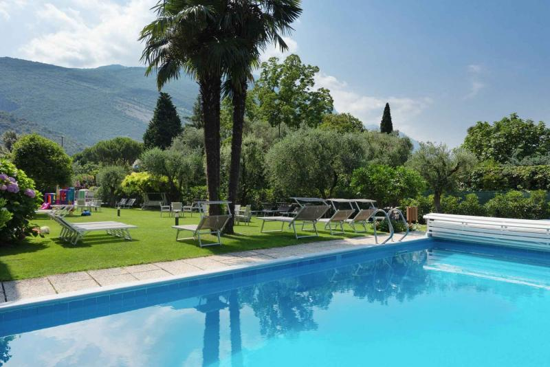 Ferienwohnung mit Pool in Torbole am Gardasee