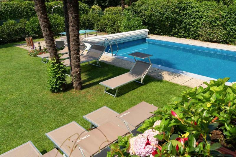 Giardino e piscine Residence Toblini Torbole