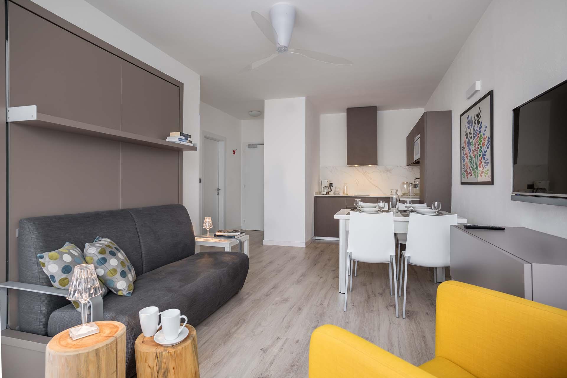 Bilocale b design for Appartamenti design